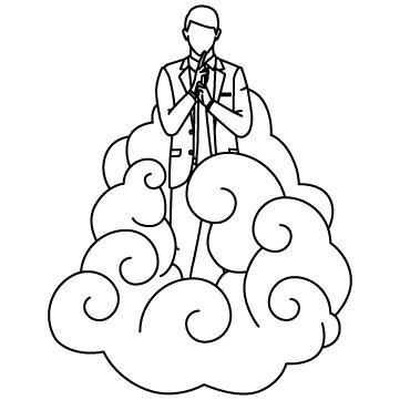会社が雲隠れの術(ドロン)のサムネイル