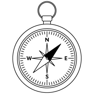 コンパス(方位磁石)のサムネイル