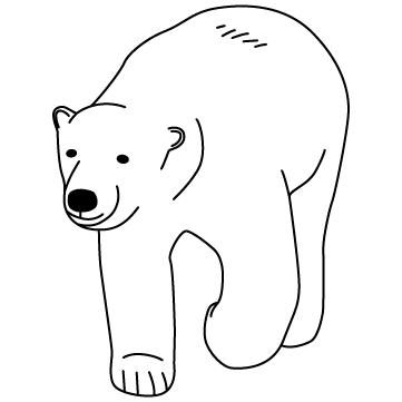 シロクマ(白熊)さん 02のサムネイル