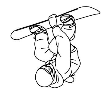 スノーボード トリック 02のサムネイル