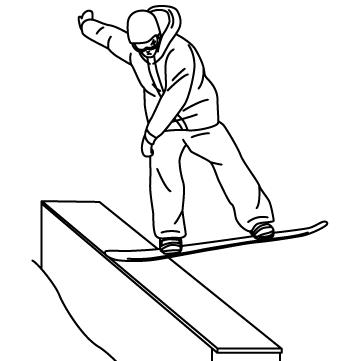 スノーボード トリック 03のサムネイル