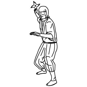 手裏剣忍者のサムネイル