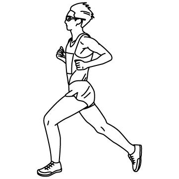 マラソンランナーのサムネイル