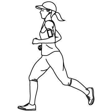 ジョギング(美ジョガー)のサムネイル
