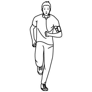ジョギング(ジョガー)02のサムネイル