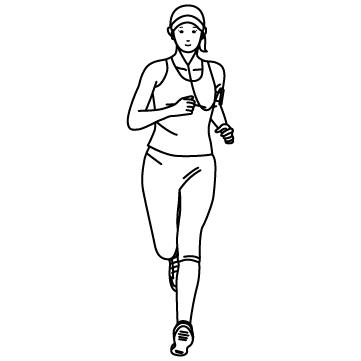 ジョギング(美ジョガー)02のサムネイル