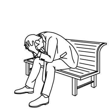絶望する人のサムネイル