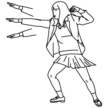 拳法マスター女子高生のサムネイル