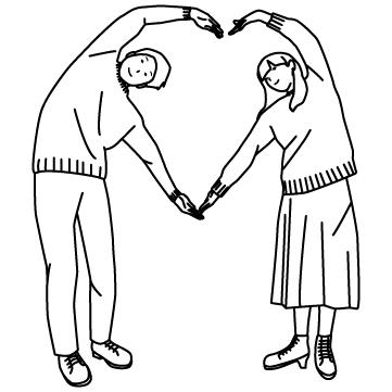ハートを作る恋人たち 01のサムネイル