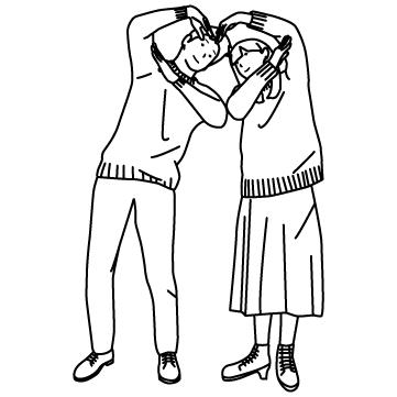 ハートを作る恋人たち 02のサムネイル