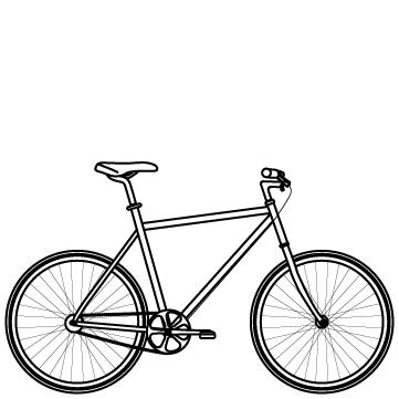 クロスバイクのサムネイル