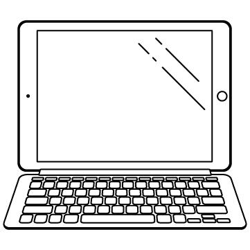 タブレットとキーボードのサムネイル