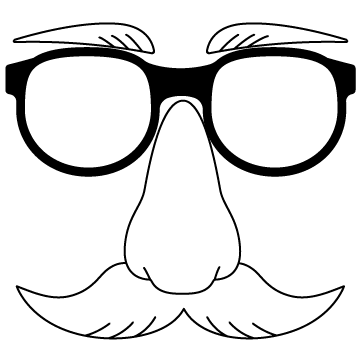 変装メガネ 01のサムネイル
