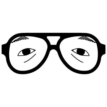 変装メガネ 02のサムネイル