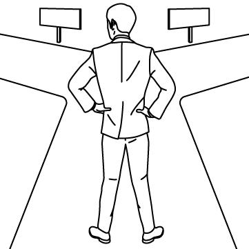 人生の岐路(分岐点)のサムネイル