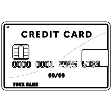 クレジットカードのサムネイル