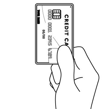 カードで支払いのサムネイル