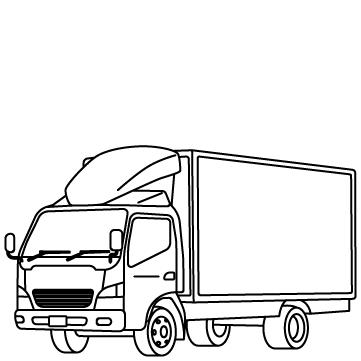 トラック(大型車) 03のサムネイル
