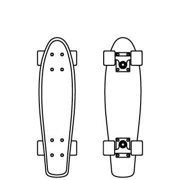 ペニーボード(板)のサムネイル