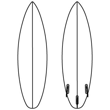 サーフボード(板)のサムネイル