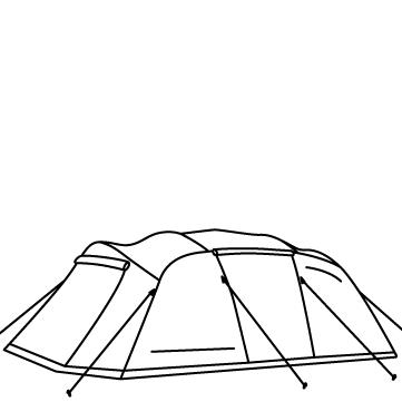 トンネル型テントのサムネイル