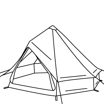 ベル型テントのサムネイル