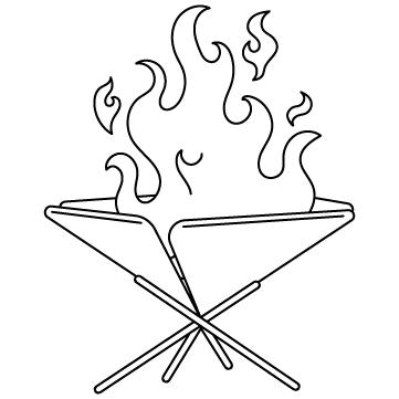 焚き火台のサムネイル