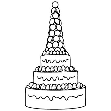 ウェディングケーキのサムネイル