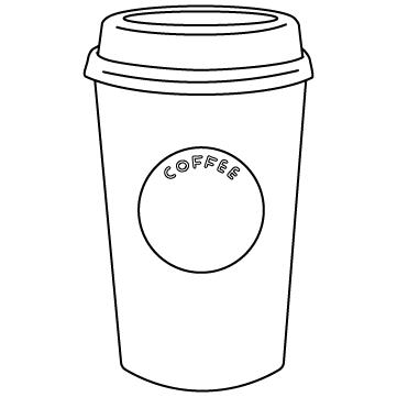 コーヒーカップ(紙コップ)のサムネイル