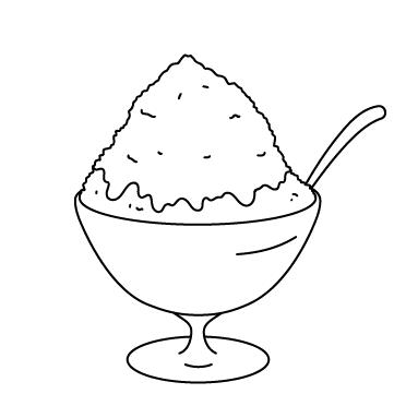かき氷のサムネイル