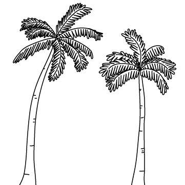 ヤシの木のサムネイル