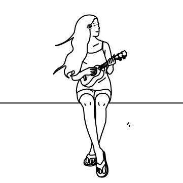 ウクレレ奏者 02のサムネイル