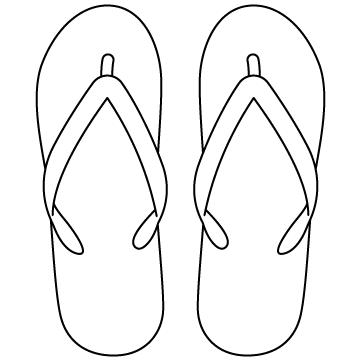 ビーチサンダルのサムネイル