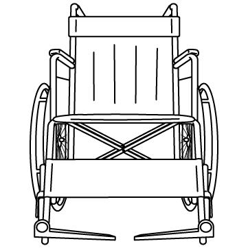 車椅子 03のサムネイル