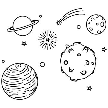宇宙(惑星と星)のサムネイル