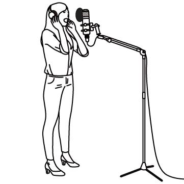 レコーディング(歌手)01のサムネイル