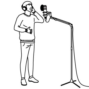 レコーディング(歌手)02のサムネイル