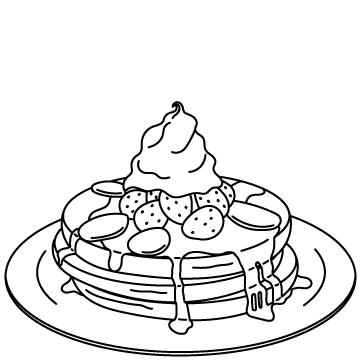 パンケーキのサムネイル