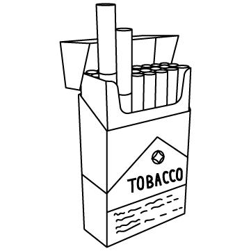 たばこ(ボックス)のサムネイル
