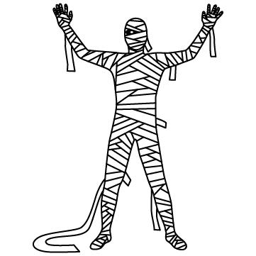 ミイラ男(包帯男)のサムネイル