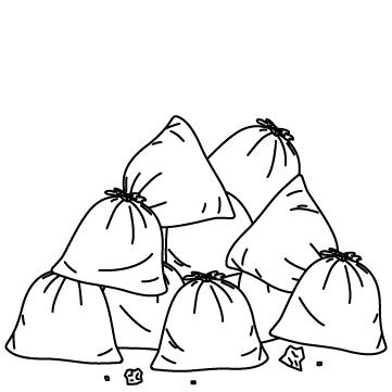 ゴミの山のサムネイル