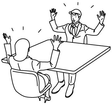 盛り上がるミーティングのサムネイル