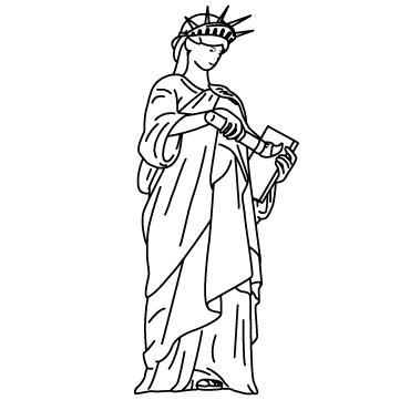 自由に絵を描く女神のサムネイル