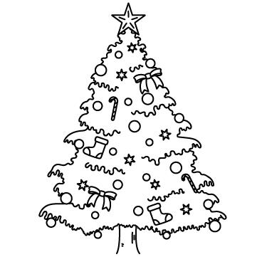 クリスマスツリーのサムネイル