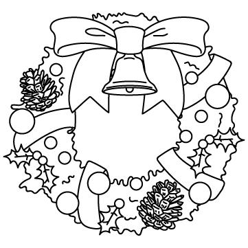 クリスマスリースのサムネイル