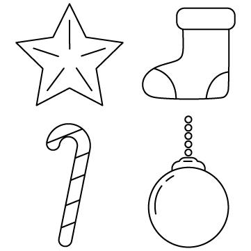 クリスマス装飾品のサムネイル