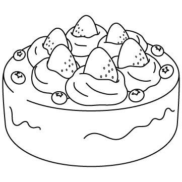 ショートケーキ(ホール)のサムネイル