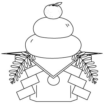 鏡餅のサムネイル