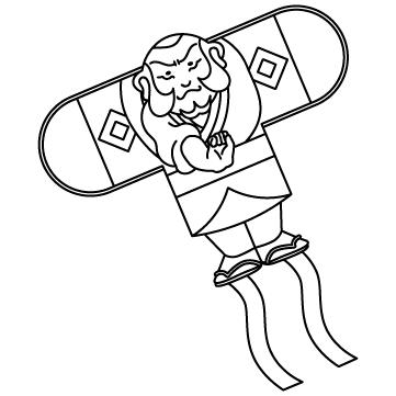 凧(たこ)のサムネイル