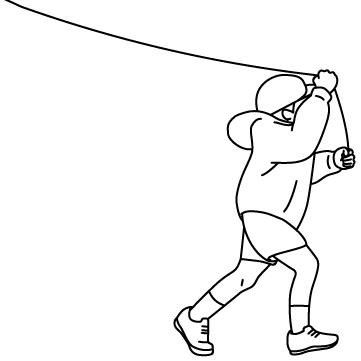凧揚げ(たこあげ) 01のサムネイル